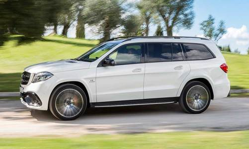 En büyük Mercedes SUV: GLS