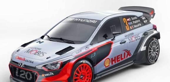YENİ HYUNDAI i20 WRC GÖREVE HAZIR
