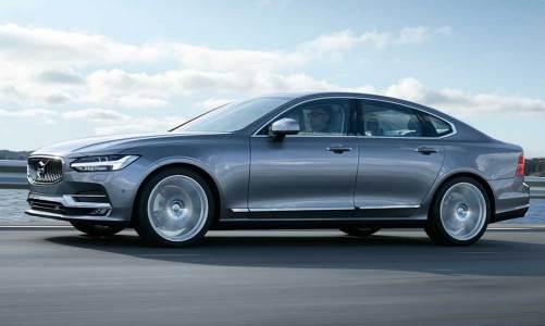 Volvo'dan yeni üst orta sınıf sedan: S90