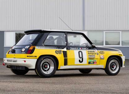 RENAULT 5 TURBO