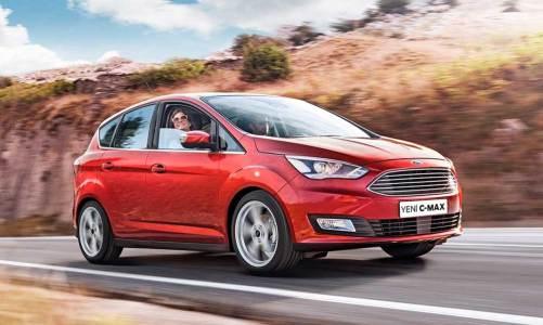 Ford C-Max'e 1.5 lt dizel-otomatik seçeneği