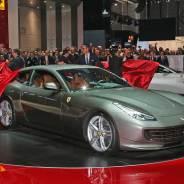 Ferrari GTC4Lusso ekimde Türkiye'de
