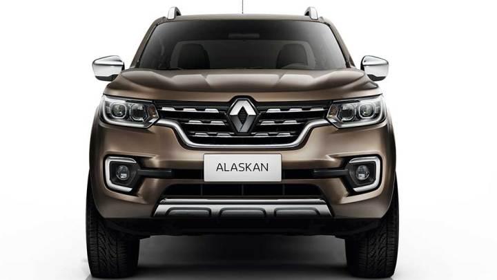 Renault Alaskan ortaya çıktı