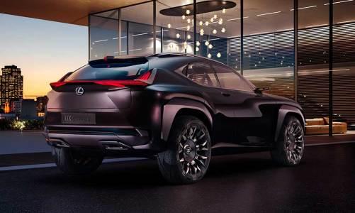 Lexus UX konsepti Paris'te tanıtılacak