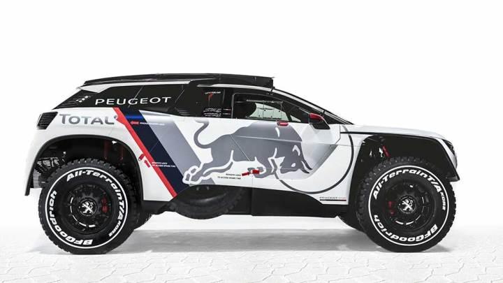 Yeni Peugeot 3008 Dakar Rallisi'ne hazır