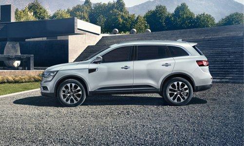 Renault Autoshow'da Koleos'u sergiliyor