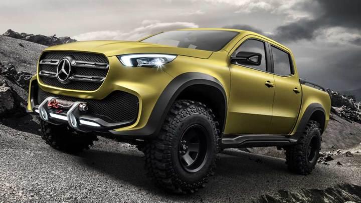 Mercedes'in ilk pick-up'ı: X-Serisi