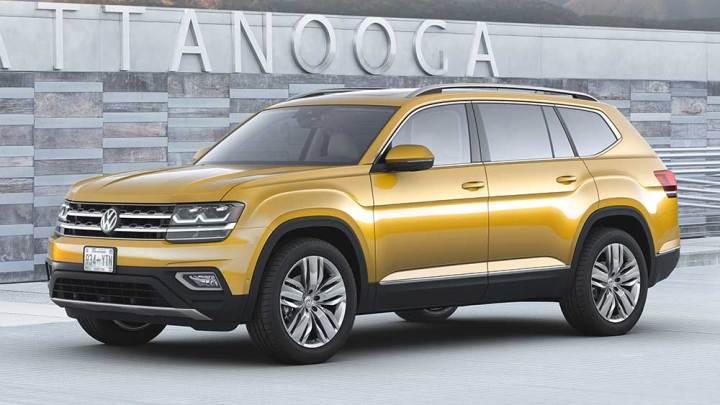 Volkswagen'den yedi kişilik SUV: Atlas