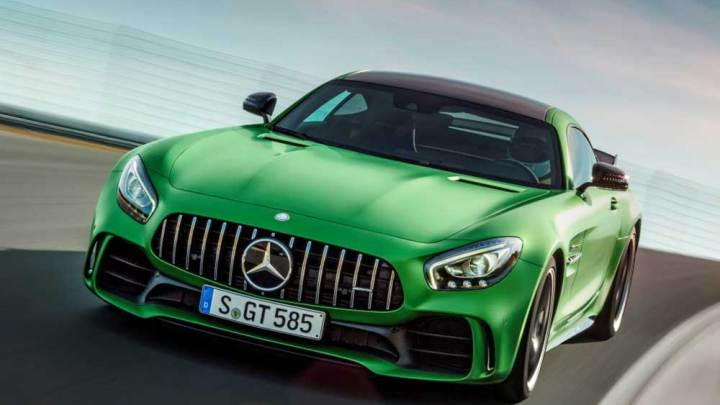 Mercedes-AMG GT R yollara çıkıyor