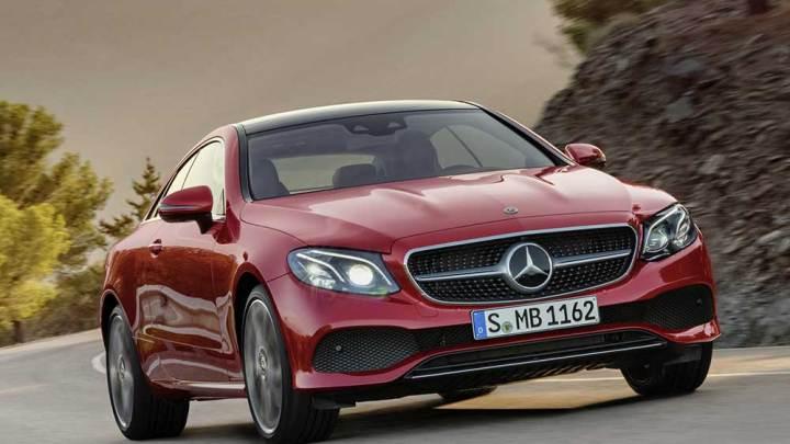 Mercedes yeni E-Serisi Coupe'yi tanıttı