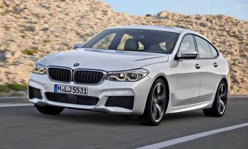 BMW yeni 6 Serisi GT'yi tanıttı