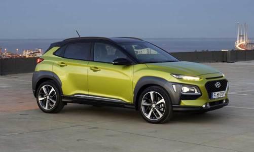 Hyundai'nin yeni küçük SUV'u Kona
