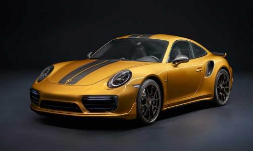 500 adetlik özel Porsche 911