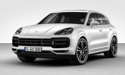 Porsche'den yeni Cayenne Turbo