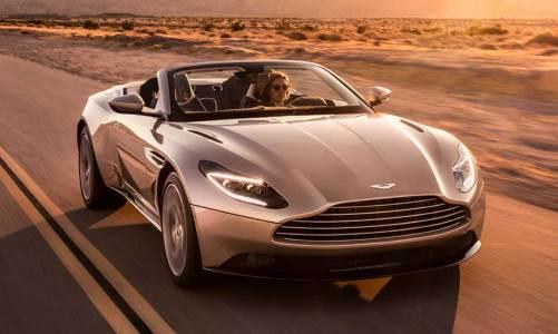 Aston Martin DB11 Volante geliyor