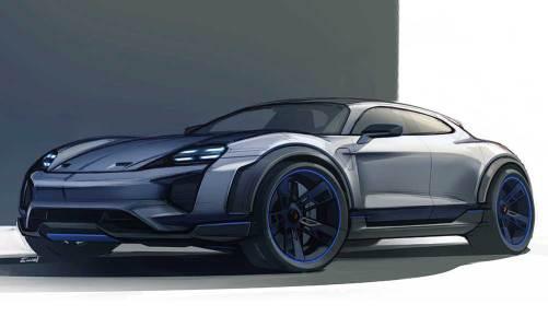 Porsche'den elektrikli SUV konsepti