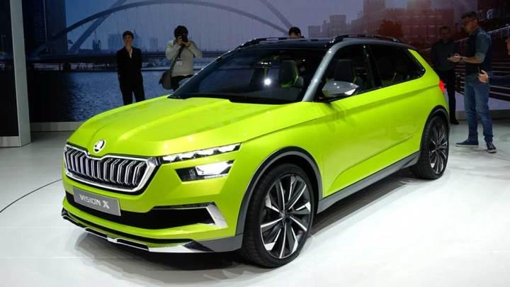 Skoda'nın yeni SUV'u geliyor: Vision X