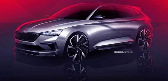 Skoda Vision RS Paris'te tanıtılacak