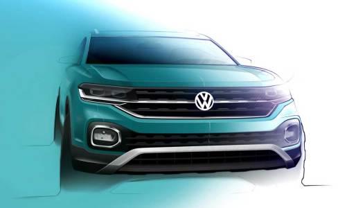 VW'nin yeni SUV'unun adı T-Cross olacak