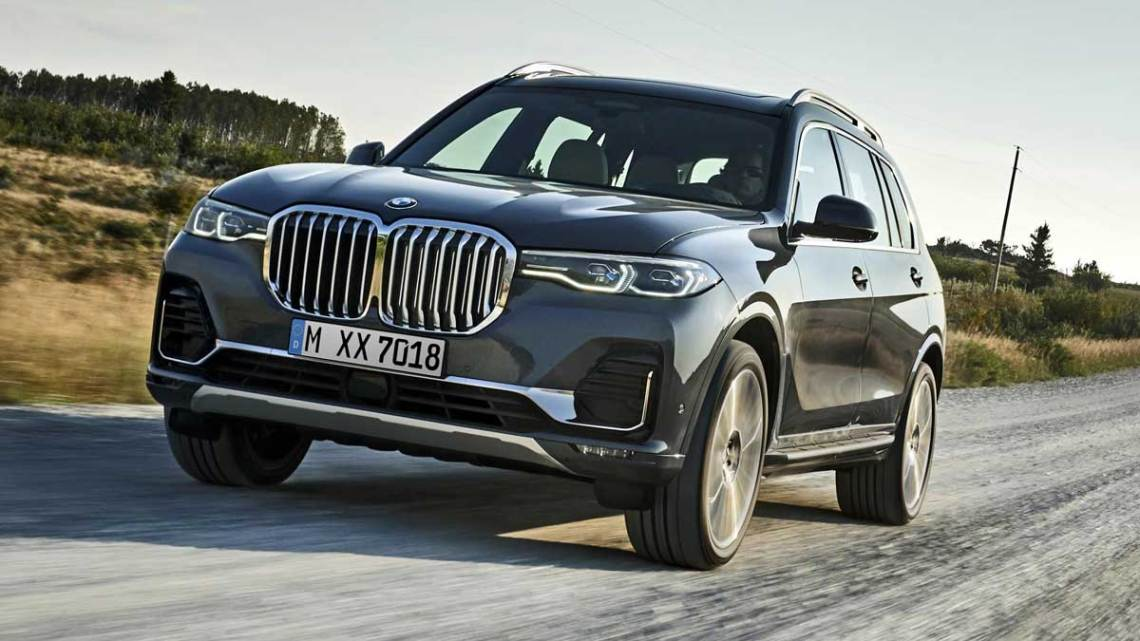 BMW'nin en büyük SUV'u: X7
