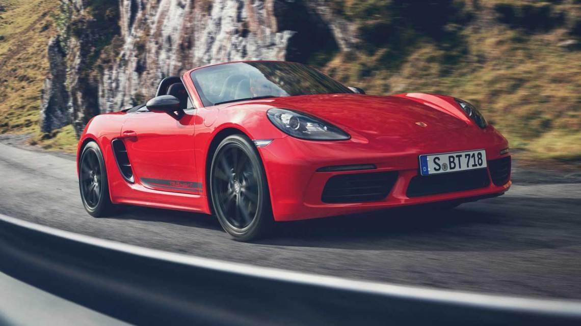 Porsche 718 artık daha dinamik