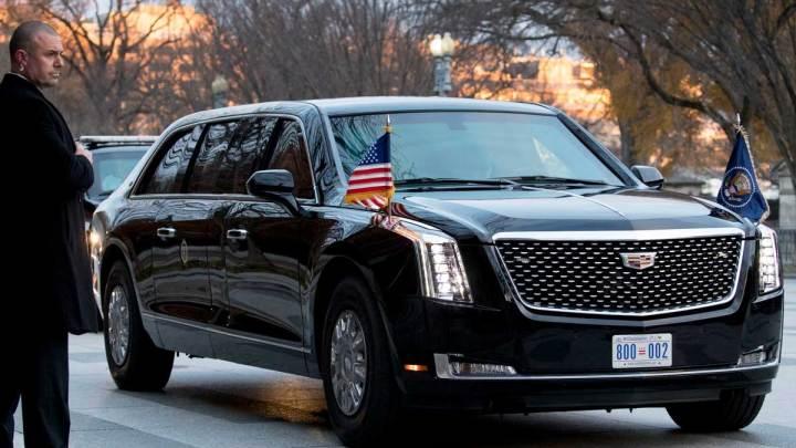 Amerika'nın başkanlık limuzinleri
