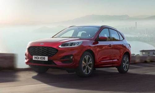 Yeni Ford Kuga'da hibrit versiyonlar da olacak