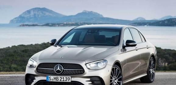 Mercedes E-Serisi'ne detaylı makyaj