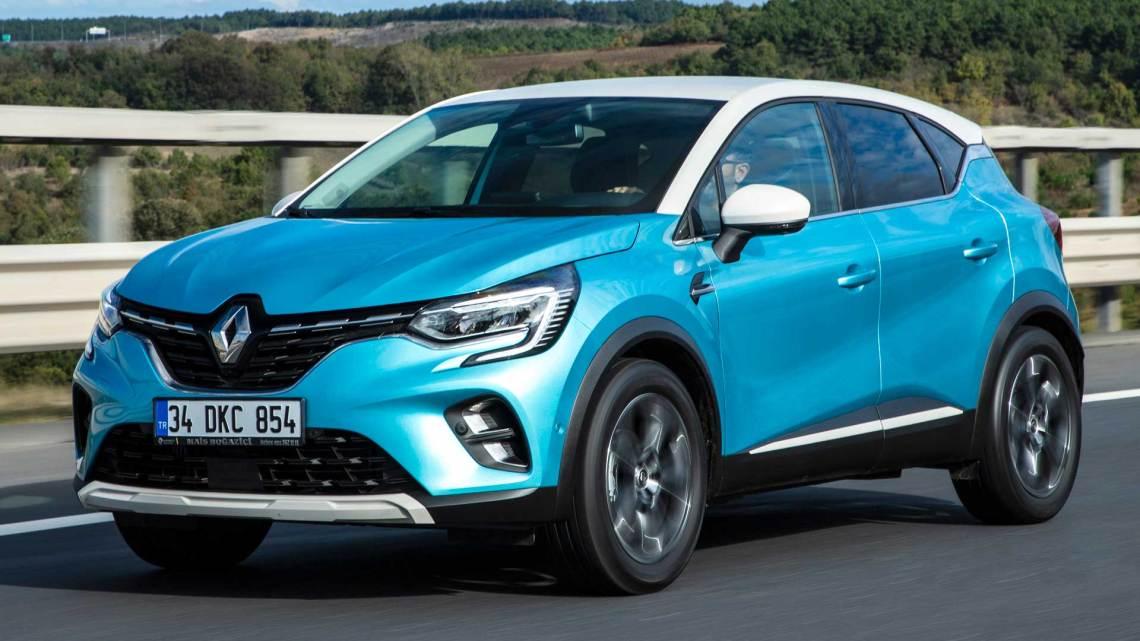 2020 Renault Captur test sürüşü