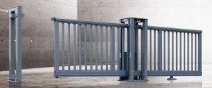 Aluminum Electric Sliding Driveway Gate  Auto Gate