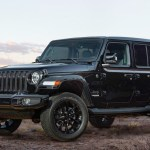 Jeep Wrangler High Altitude in Black.