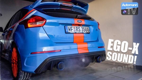 2016 ford focus rs sound check