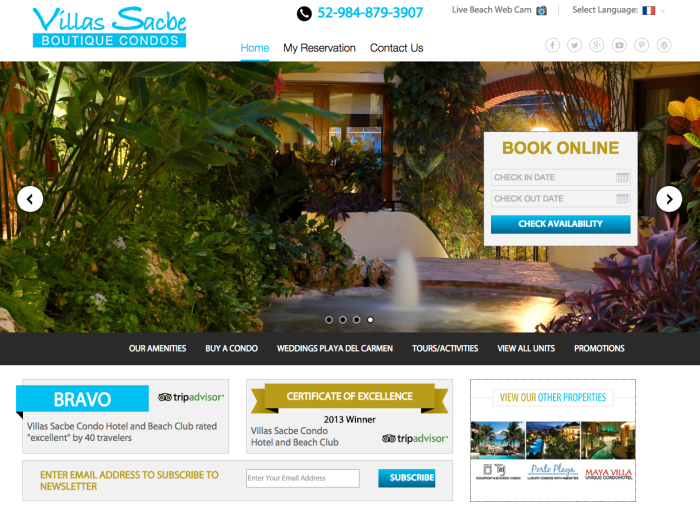 Villas Sacbe Playa del Carmen by Automated Contacts