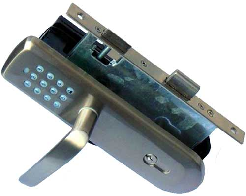 Z Wave Vision Deadbolt Door Lock With Handle Automated Home