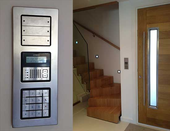knx plus comfort smart home system photos automated home. Black Bedroom Furniture Sets. Home Design Ideas