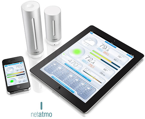 Netatmo Launch Personal Weather Station For Ios Iphone And