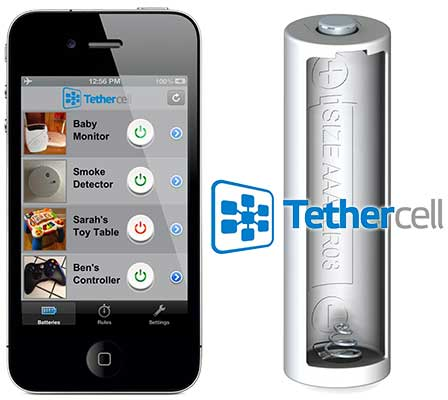 Tethercell Brings Smartphone Control To Battery Powered