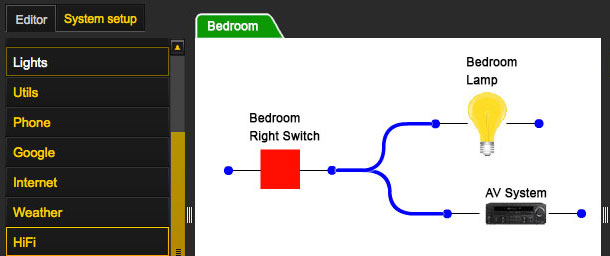 rasplogic home automation software for the raspberry pi automated home. Black Bedroom Furniture Sets. Home Design Ideas