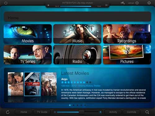 CommandFusion iViewer Lite iPad