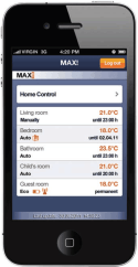 eQ-3 MAX! Smartphone App for iPhone & Android