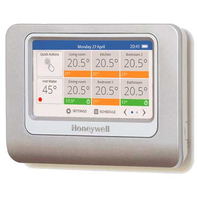 Honeywell reveal new evohome smartphone controlled zoned for New heating system