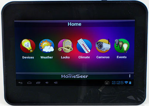 Video Homeseer Wftt07 Android Tabletop Touchscreen