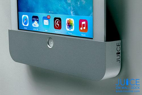 Video New Juice Ipad Wall Dock Hits Kickstarter