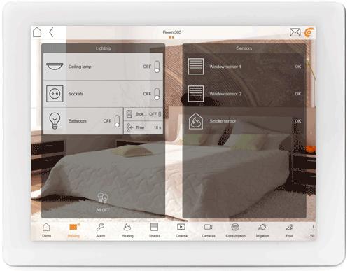 ComfortClick bOS iPad