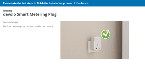 Devolo Home Control Adding Smart Meter Plug