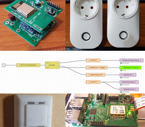 My Automated Home: Raspberry Pi + Node-Red + MQTT & Amazon
