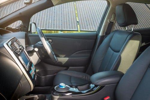 Nissan Leaf Tekna Interior