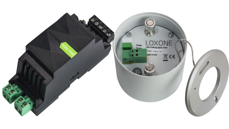 Loxone Tree Lighting