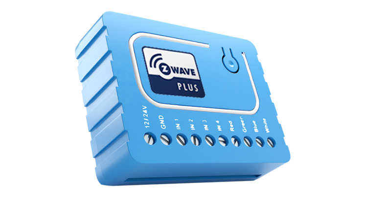 Qubino S Tiny Z Wave Plus Rgbw Smart Home Dimmer