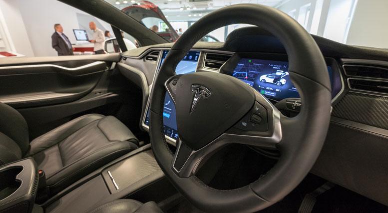 Tesla Dublin Store